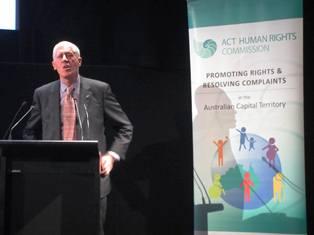 Disability Discimination Commissioner Graeme Innes