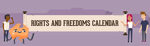 Rights and Freedoms Calendar