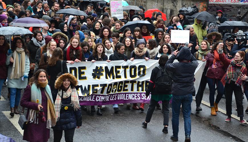 #MeToo march in Paris