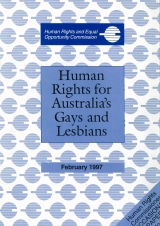 Cover - Human Rights for Australia's Gay and Lesbians