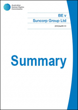BE v Suncorp Summary