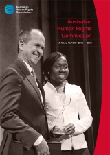 Cover image by Matt Syres: 2015 Human Rights Medal winner Peter Greste with Nene Manasseh, representing the Racism. It Stops with Me 2015 Award winners, Tasmanian Students Against Racism.