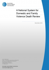 A National System for Domestic and Family Violence Death Review Cover image