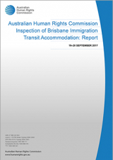 Inspection of Brisbane Immigration Transit Accommodation: Report