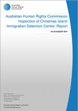 Inspection of Christmas Island Immigration Detention Centre: Report