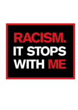Racism. It Stops With Me logo