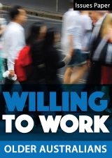Willing to Work Issues Paper: Older Australians